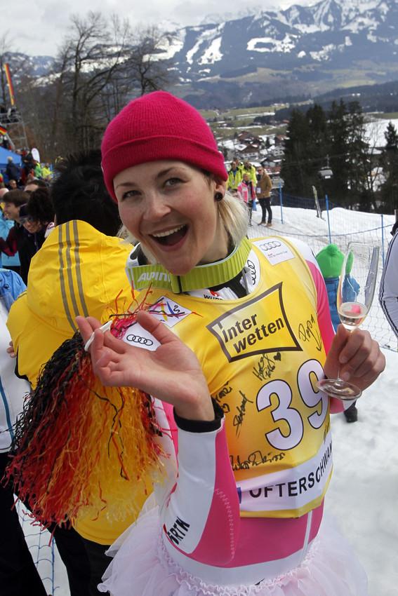 Servus, Fanny! Fanny Chmear verabschiedet sich aus dem Ski-Weltcup - © Christophe PALLOT/AGENCE ZOOM