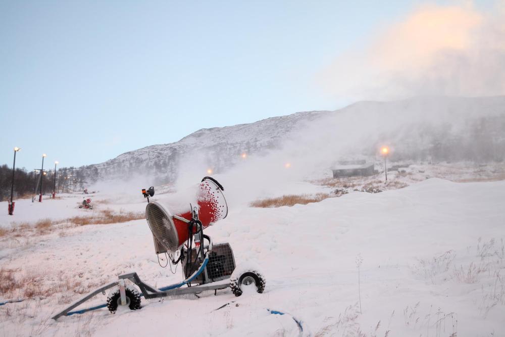 Haukelifjell Skisenter - Snøproduksjon