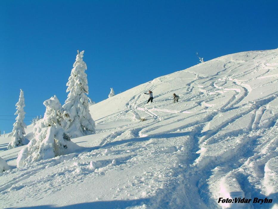 Sjusjøen ski resort 2013 - ©Vidar Bryhn