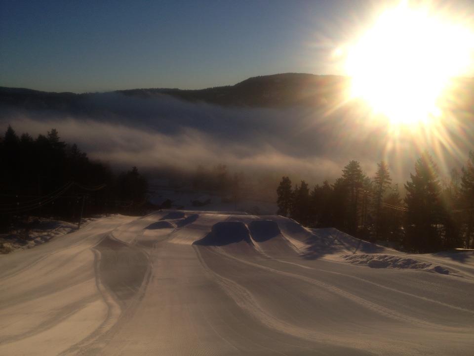 Drammen skisenter 2013 - Terrengpark