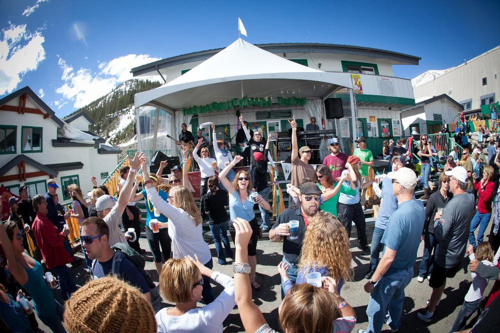 A-Basin hosts an annual spring concert series. - ©Photo courtesy Dave Camara/Arapahoe Basin.