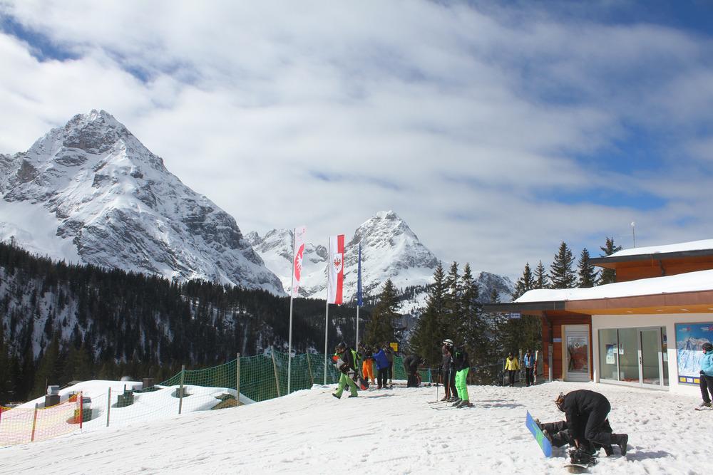 Die Bergstation der Ehrwalder Almbahn - © Skiinfo.de
