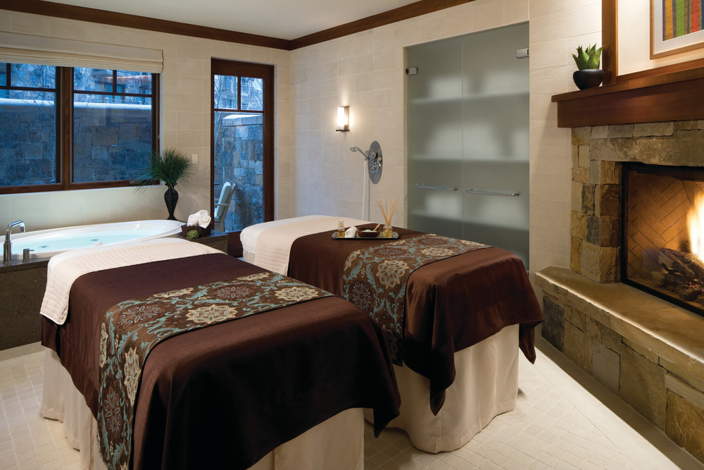 The world class spa at Four Seasons Vail. - © Jeff Scroggins