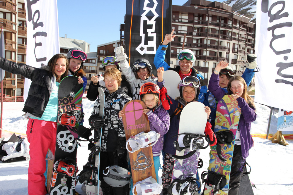 Fun for the family during the Winter Family Jam in Tignes - © opvakantie.nl