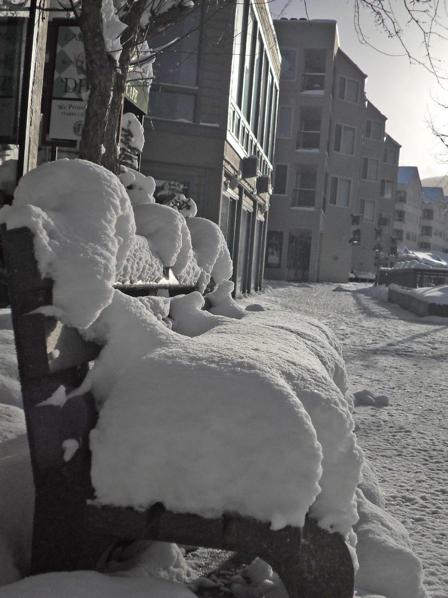 Fresh Snow in Keystone in April - © Skiinfo