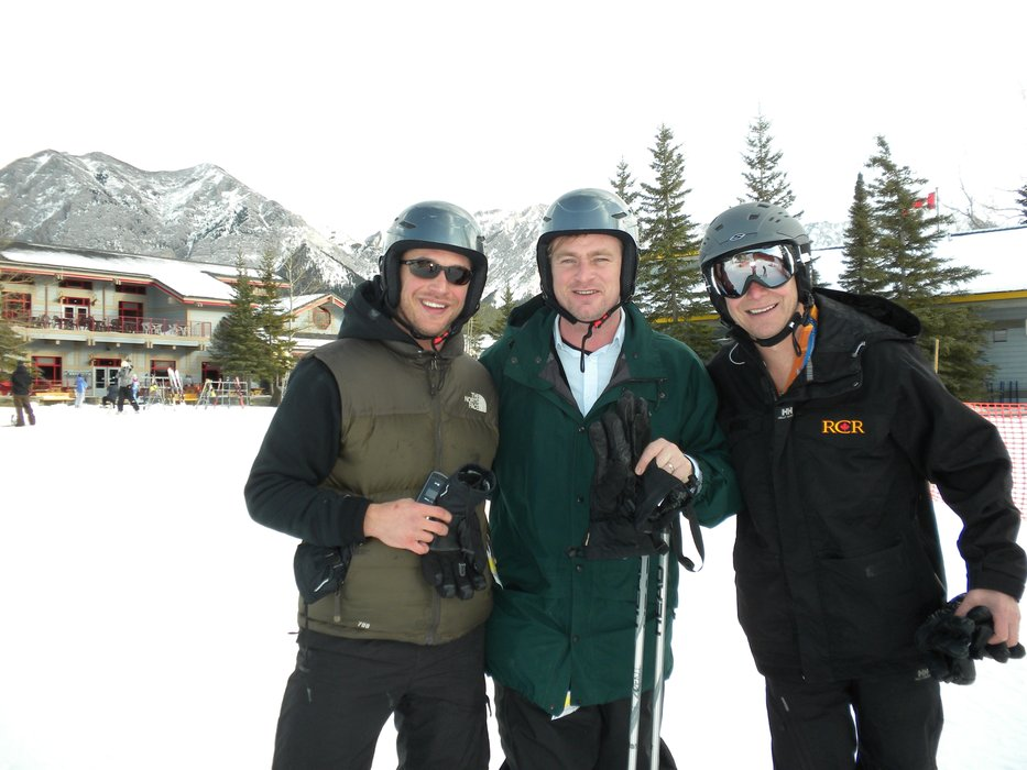 The director of the Dark Knight Trilogy, Christopher Nolan heads to Nakiska when he's looking for a skiing holiday. - © Nakiska