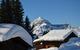Ambiance hivernale à Crest Voland - © Office de tourisme du Val d'Arly