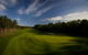 Far-reaching view of golf course at Boyne Highlands Resort