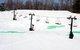 St Patrick's Day Shamrocks on slopes of Boston Mills