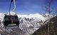 Una cabinovia sui monti di Telluride, Colorado