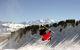 Freestyle in front of Mont-Blanc at Praz de Lys - Sommand - © OT de Praz de Lys - Sommand