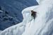 Kaj Zackrisson drops into a big line at the Skiers Cup. - © D.Daher/swatchskierscup.com
