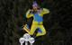 Der Ertrag einer großartigen Saison: Tina Maze hat durchaus Grund für einen kleinen Luftsprung  - © Alexis Boichard/AGENCE ZOOM