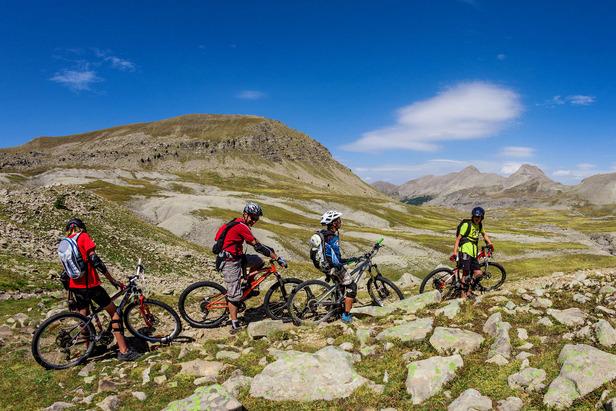 Bike Park, itinéraires de descente, enduro, randonnée... la Val d'Allos est un site d'exception pour vététistes
