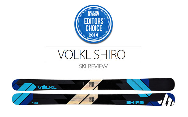 2014 Men's Powder Ski Editors' Choice: Völkl Shiro