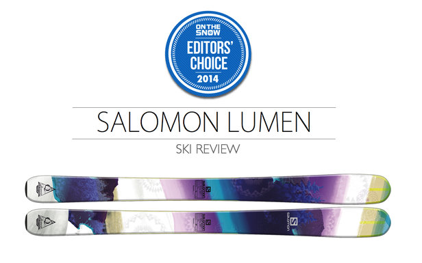 2014 Women's All-Mountain Editors' Choice Ski: Salomon Lumen
