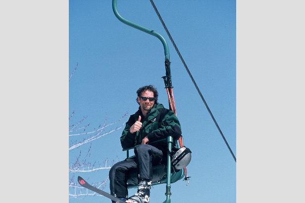 "De mooiste skiliften: de ""Old Faithful"" eenpersons stoeltjeslift in Mad River Glen, Vermont.  - © Mad River Glen"