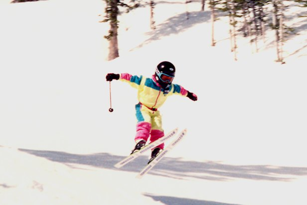 Ted Ligety catching air, 1992  - © Ligety Family Photos