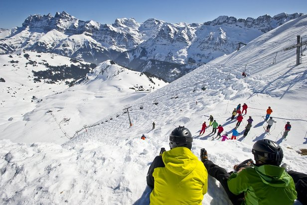 10 of the best ski runs in Europe ©Portes du Soleil