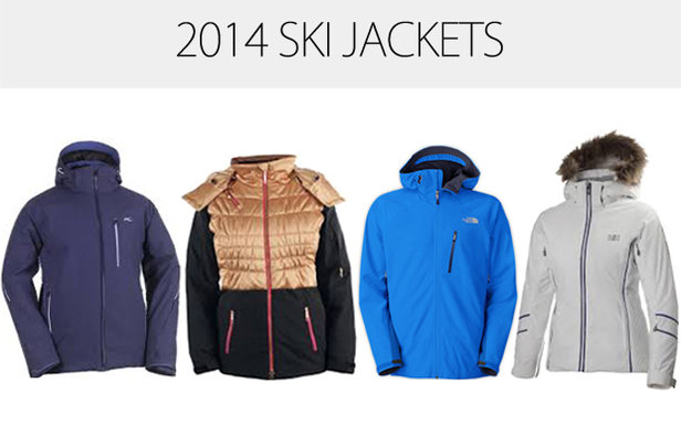 New ski jackets for 2014
