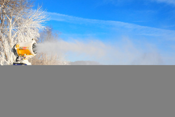 Snowmaking Underway at Hidden Valley Resort and Seven Springs Mountain Resort- ©Anna Weltz, Communications Manager