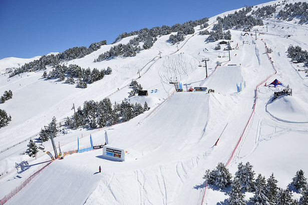 El Tarter Snowpark, Grandvalira.   - © Esqui.com