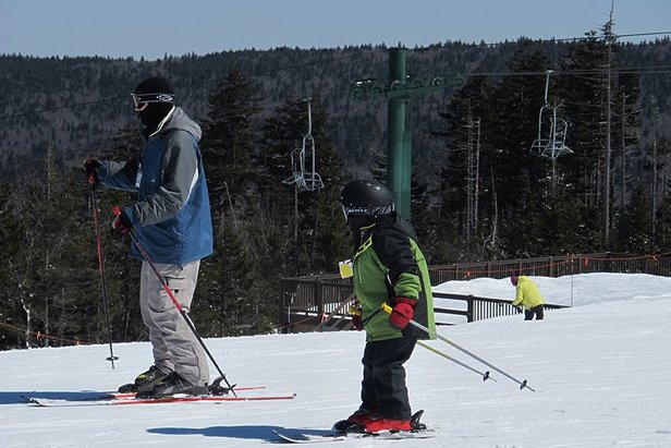 The family that skis together... has more fun. - ©Snowshoe Mountain Resort