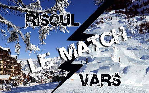 Petit match comparatif entre Vars et Risoul, les 2 stations de la Forêt Blanche