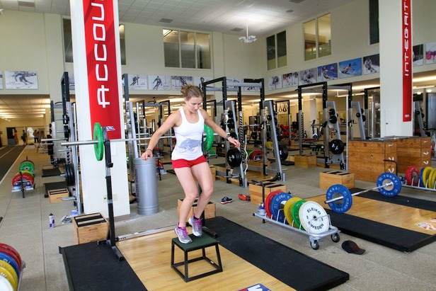 Ski Exercises: Lateral Box Jumps