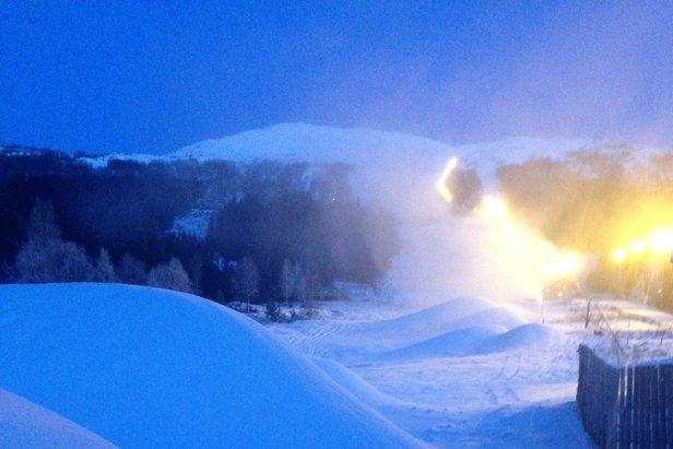 Harpefossen Skisenter opnar igjen laurdag 18. januar!- ©Harpefossen Skisenter