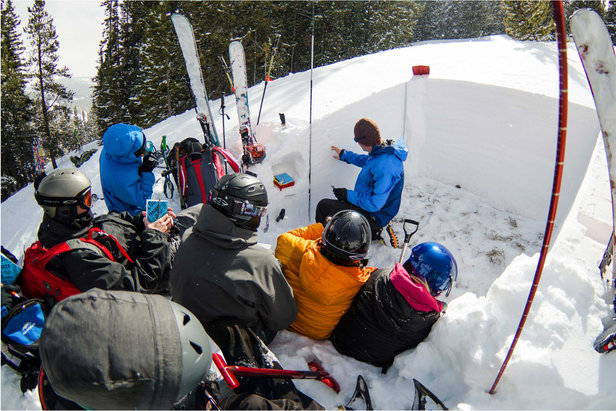 AIARE Level 1 clinics at Vail Mountain teach the fundamentals of choosing and navigating backcountry terrain. - ©Courtesy of Vail Mountain