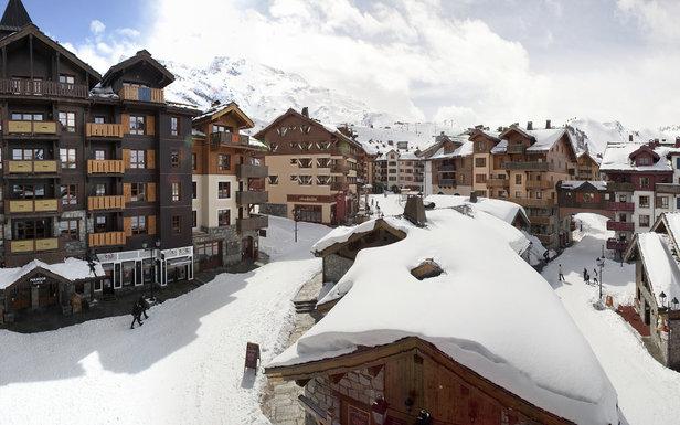 Arc 1950 est la dernière née des stations de ski française...
