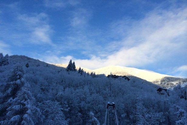 Limone P.te, Neve fresca 14 Gen 2014