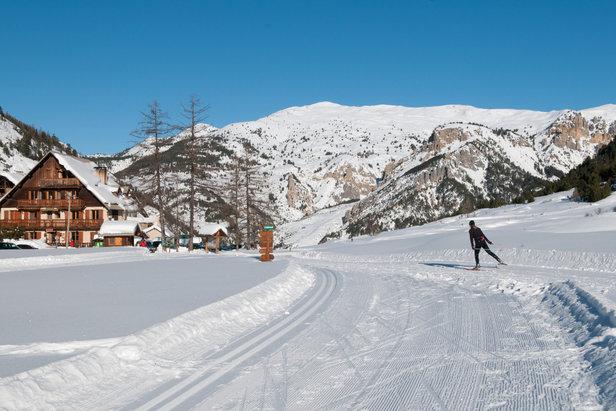 Rien de mieux qu'une session en ski nordique pour découvrir les richesses des Hautes-Alpes (faune, nature, patrimoine...)