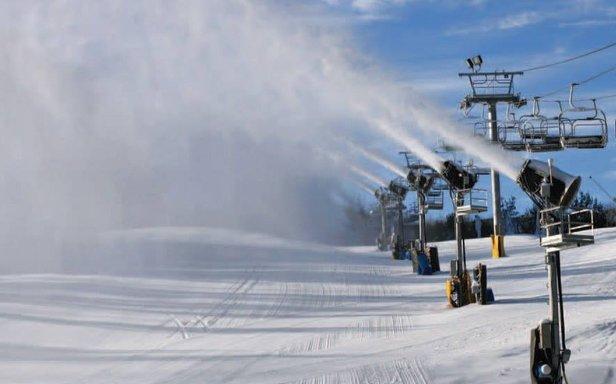 Snowmaking at Cataloochee. - ©Catalooche Ski Area