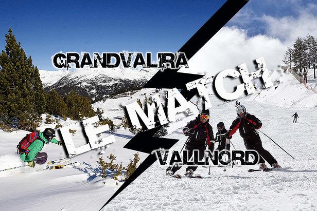 Match comparatif entre Grandvalira et Vallnord