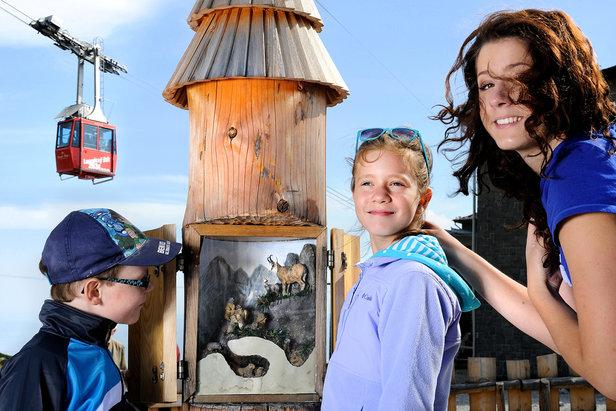 Deti na lanovkách a v aquaparku za 1 euro- ©TMR, a.s.