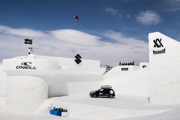 Oscar Wester wurde Sieger des Events Nine Knights 2014 in Livigno