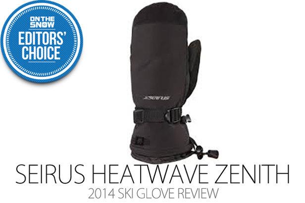 2014 Women's Ski Glove Editors' Choice: Seirus Heatwave Zenith Mitt- ©Julia Vandenoever