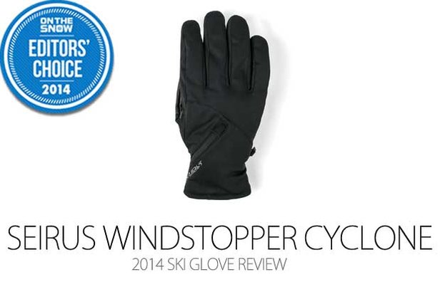 2014 Men's Ski Glove Editors' Choice: Seirus Windstopper Cyclone- ©Julia Vandenoever