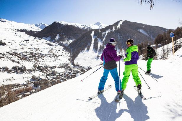 Ski doux sur le domaine de Vars