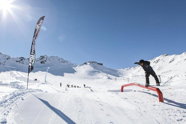 Val Senales - SnowPark