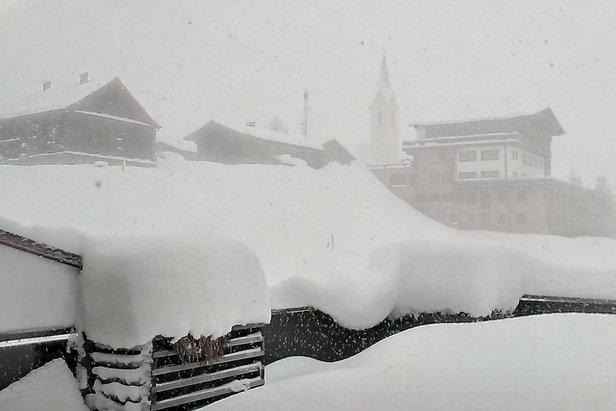 Warth-Schröcken rankiem 24.03.2014