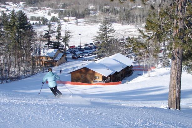 Pine Mountain, MI skier