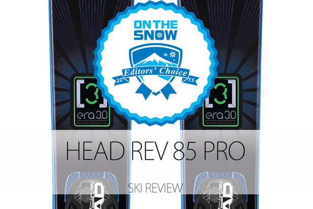 2015 Men's All-Mountain Front Editors' Choice Ski: Head Rev 85 Pro- ©Head