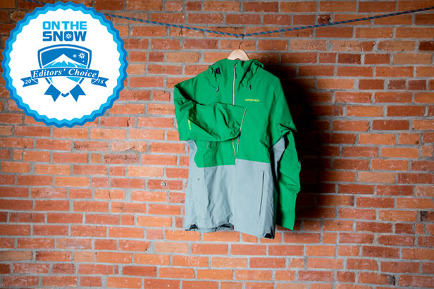 2015 men's jackets Editors' Choice: Patagonia PowSlayer Jacket