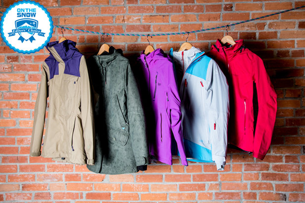 2015 women's Editors' Choice jackets