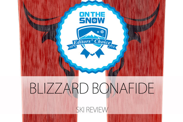 2015 Men's All-Mountain Back Editors' Choice Ski: Blizzard Bonafide- ©Blizzard