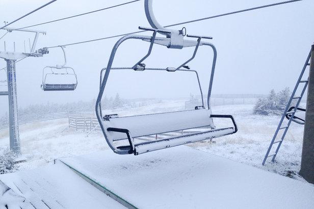 Sneen daler i alperneNurko Kicin