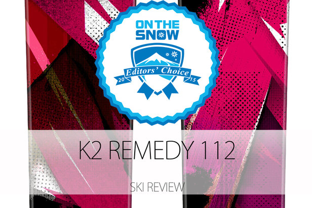 2015 Women's Powder Editors' Choice Ski: K2 Remedy 112- ©K2